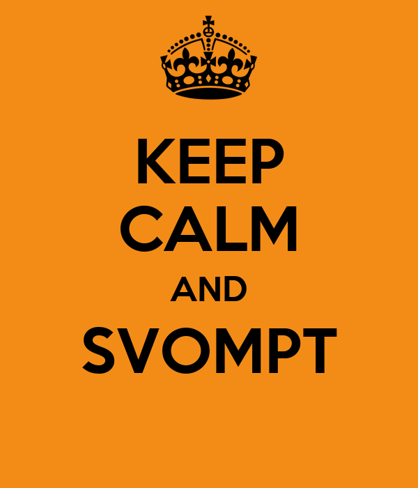 KEEP CALM AND SVOMPT