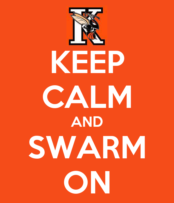 KEEP CALM AND SWARM ON