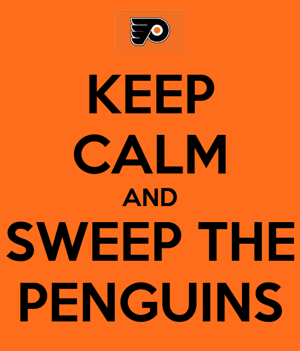 KEEP CALM AND SWEEP THE PENGUINS