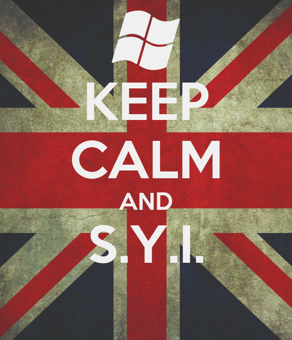 KEEP CALM AND S.Y.I.