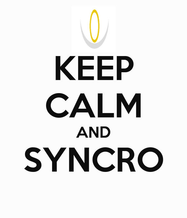 KEEP CALM AND SYNCRO