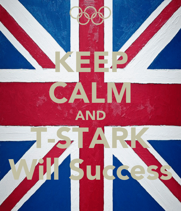 KEEP CALM AND T-STARK Will Success