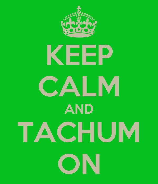 KEEP CALM AND TACHUM ON