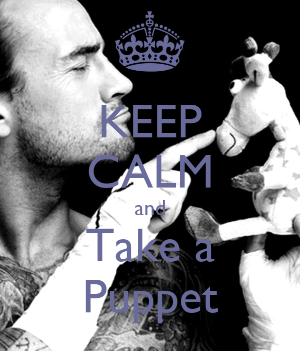 KEEP CALM and Take a Puppet