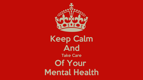 how to take care of mental health