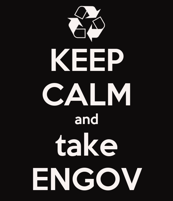 KEEP CALM and take ENGOV