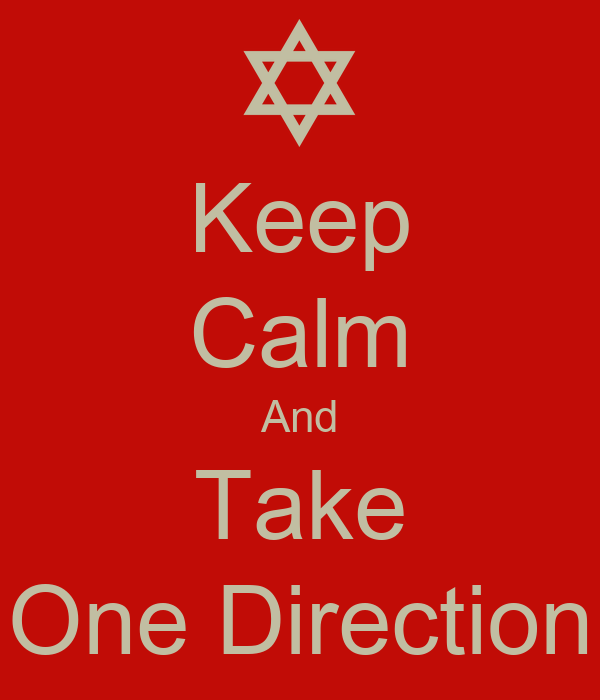 Keep Calm And Take One Direction