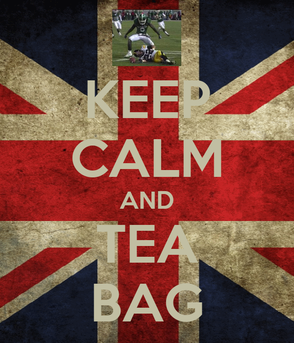 KEEP CALM AND TEA BAG