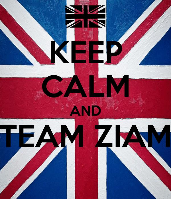 KEEP CALM AND TEAM ZIAM