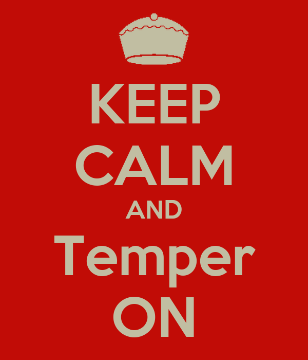 how to keep your temper down