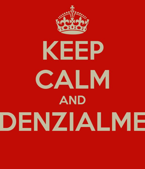 KEEP CALM AND TENDENZIALMENTE