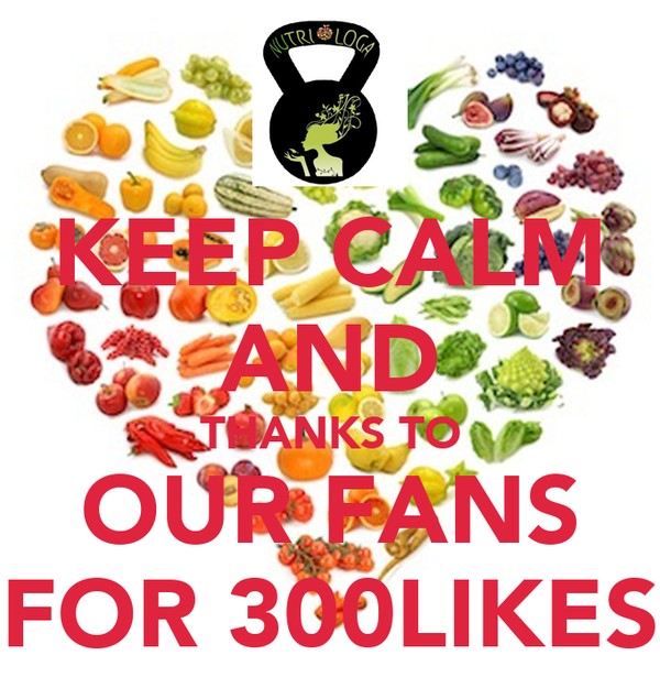 KEEP CALM AND THANKS TO OUR FANS FOR 300LIKES