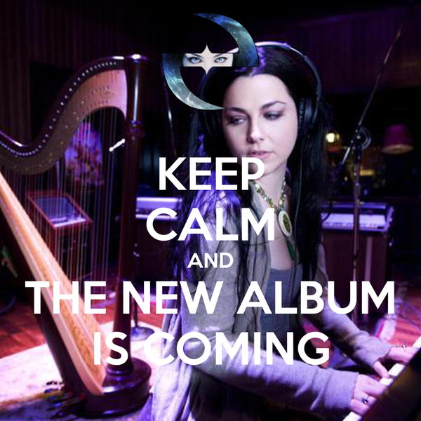 KEEP CALM AND THE NEW ALBUM IS COMING