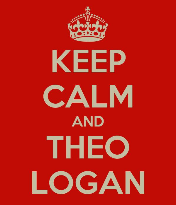 KEEP CALM AND THEO LOGAN