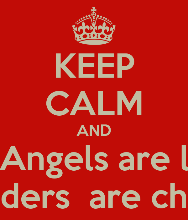 KEEP CALM AND think Angels are losers and Dogders  are champions