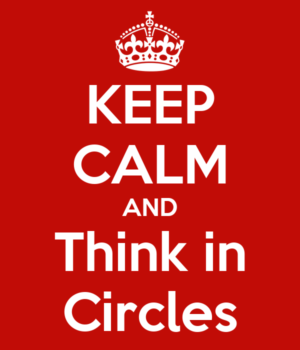 KEEP CALM AND Think in Circles