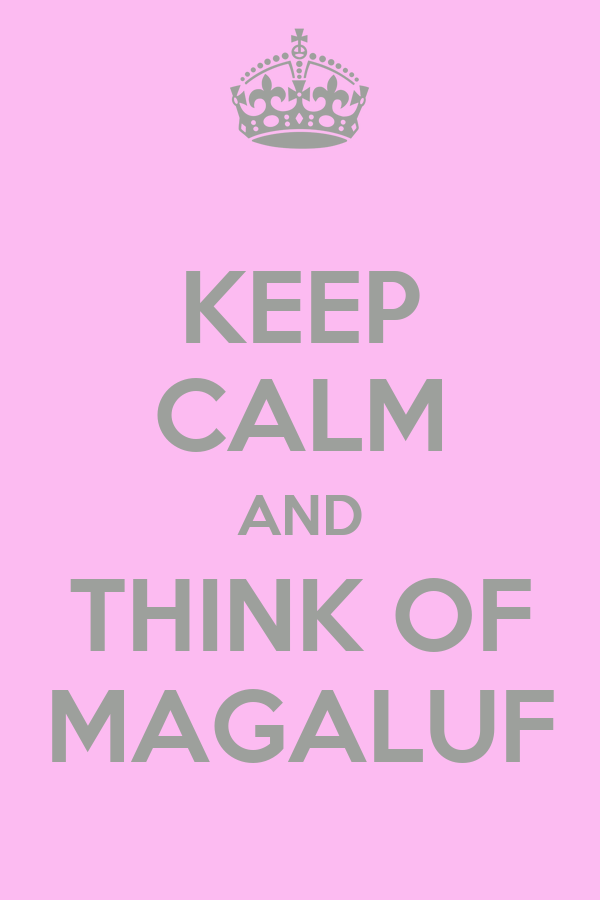 KEEP CALM AND THINK OF MAGALUF