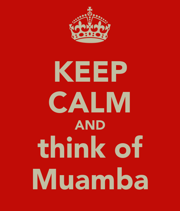 KEEP CALM AND think of Muamba