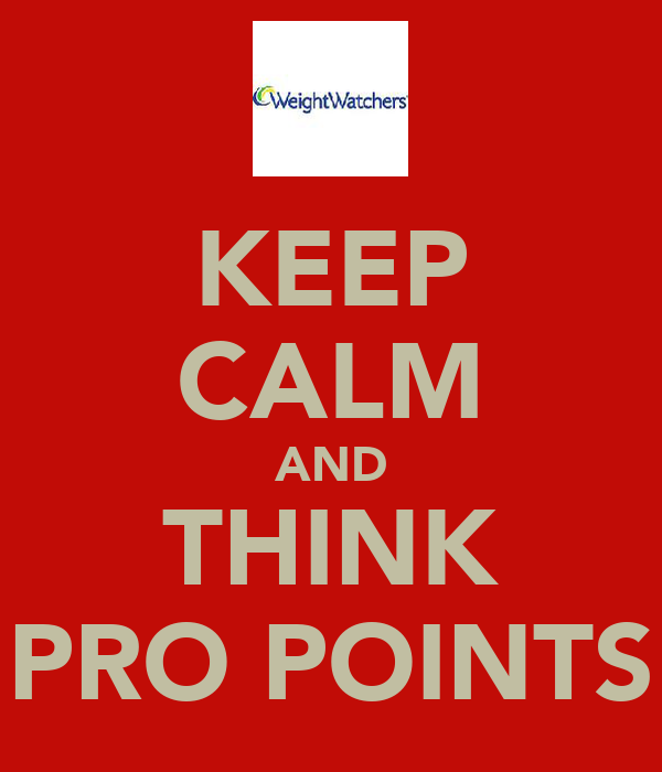 KEEP CALM AND THINK PRO POINTS