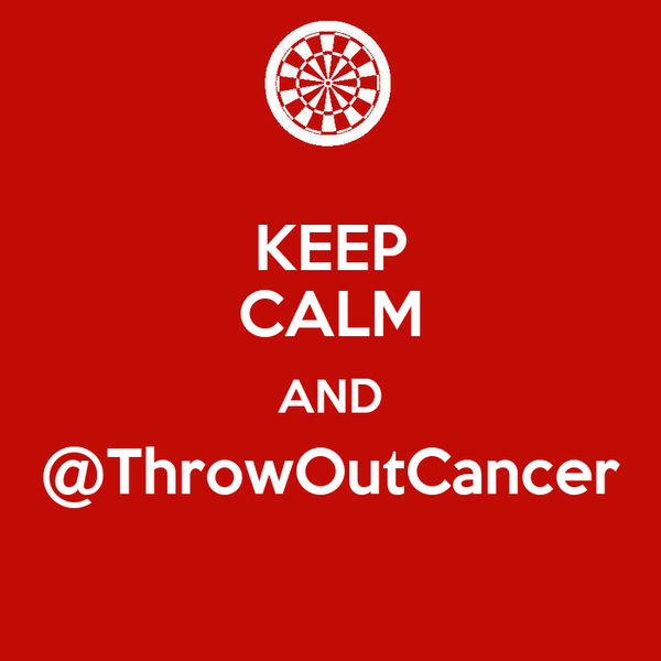 KEEP CALM AND @ThrowOutCancer