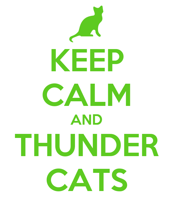 KEEP CALM AND THUNDER CATS