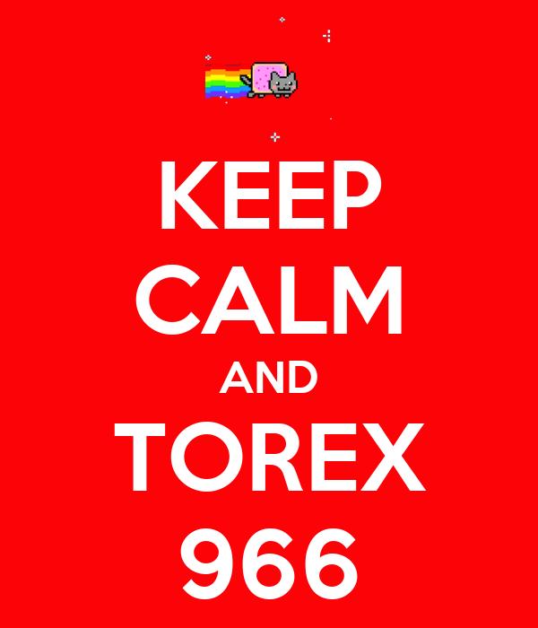 KEEP CALM AND TOREX 966