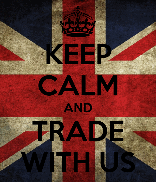 KEEP CALM AND TRADE WITH US