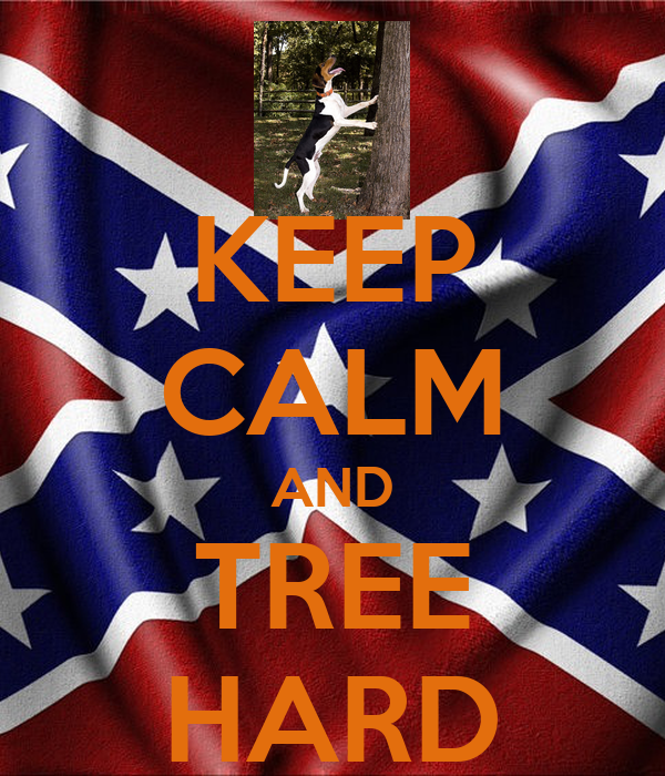 KEEP CALM AND TREE HARD