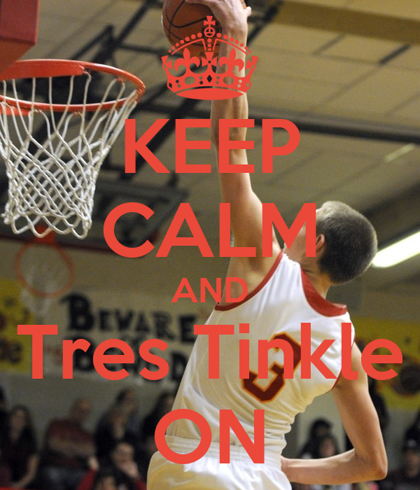 KEEP CALM AND Tres Tinkle ON