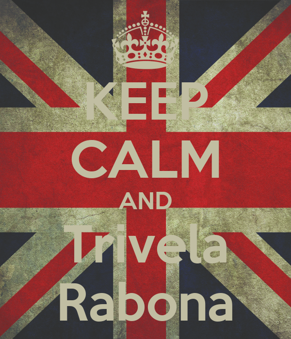 KEEP CALM AND Trivela Rabona