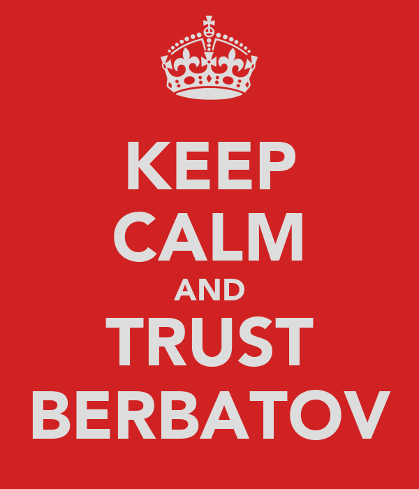 KEEP CALM AND TRUST BERBATOV