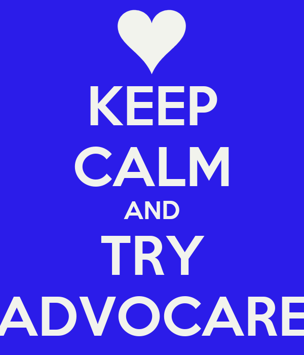 KEEP CALM AND TRY ADVOCARE