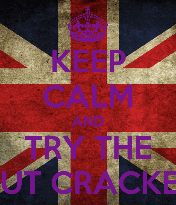 KEEP CALM AND TRY THE NUT CRACKER