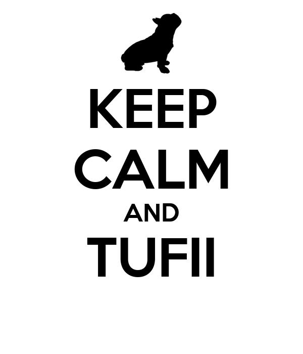 KEEP CALM AND TUFII