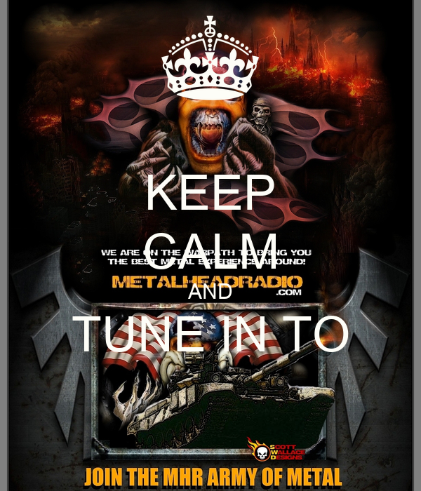 KEEP CALM AND TUNE IN TO