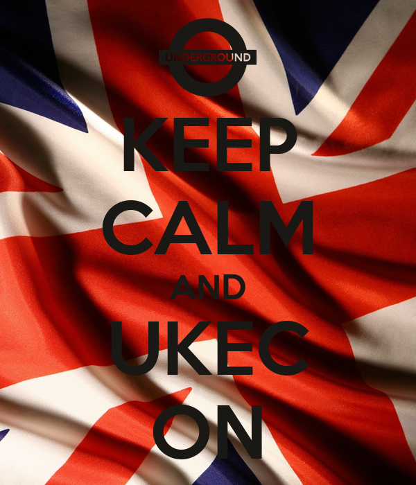KEEP CALM AND UKEC ON