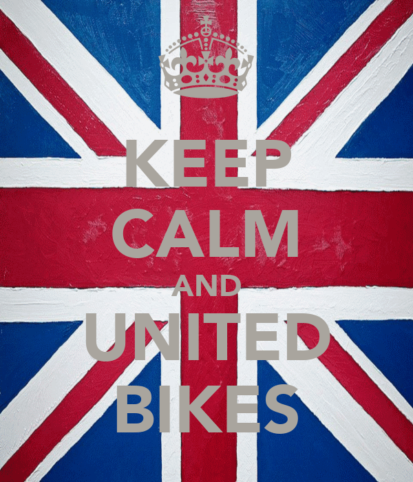 KEEP CALM AND UNITED BIKES