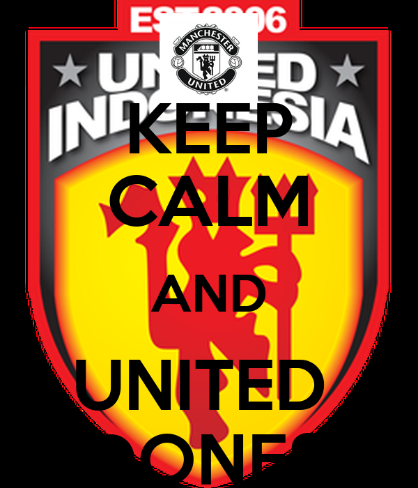 KEEP CALM AND UNITED  INDONESIA