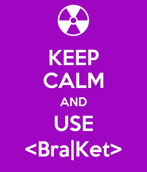 KEEP CALM AND USE <Bra|Ket>