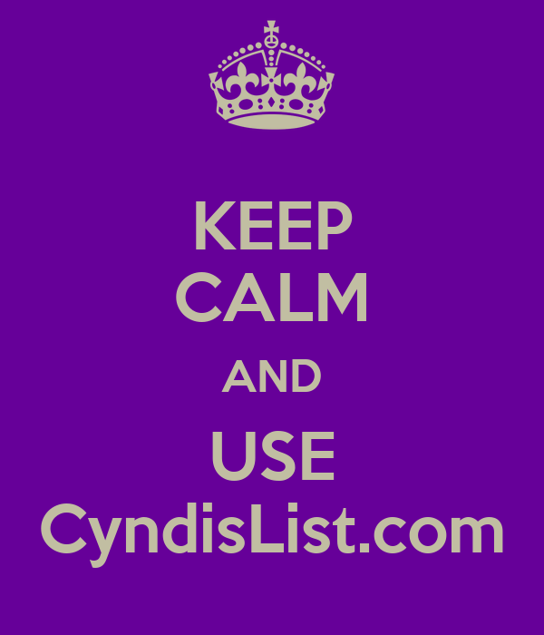 KEEP CALM AND USE CyndisList.com