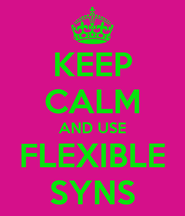 KEEP CALM AND USE FLEXIBLE SYNS