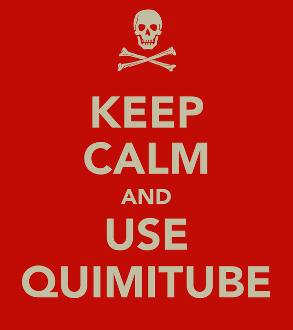 KEEP CALM AND USE QUIMITUBE