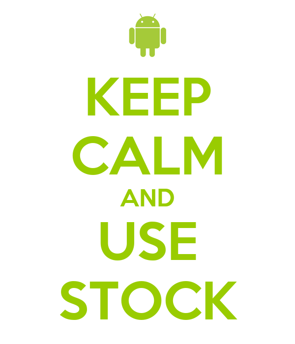 KEEP CALM AND USE STOCK
