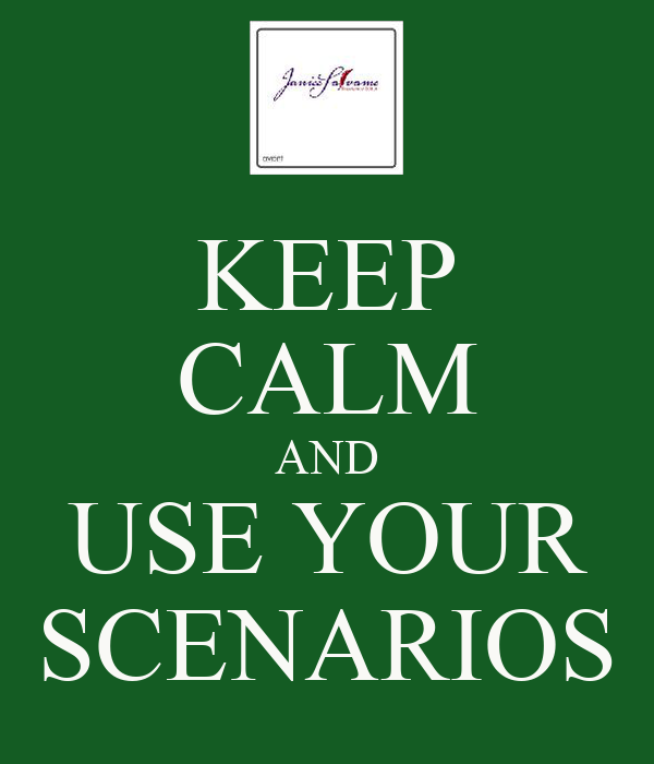 """scenarios 1 thru 3 Capstone forecasting spreadsheet & walkthrough tips the production numbers use a """"best case"""" scenario that you will actually sell about 10% more than 3."""