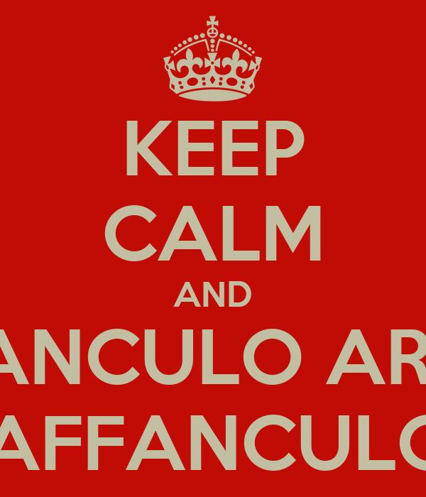 KEEP CALM AND VAFFANCULO ARBITRO VAFFANCULO !