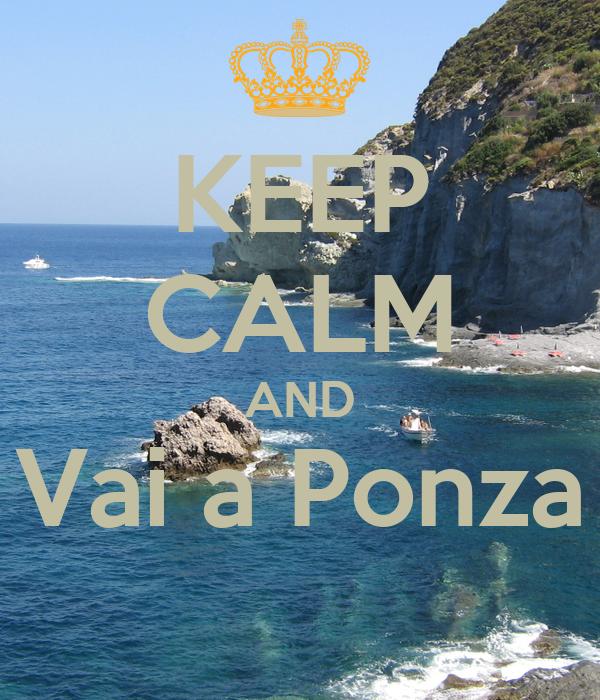 KEEP CALM AND Vai a Ponza