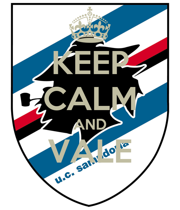 KEEP CALM AND VALE