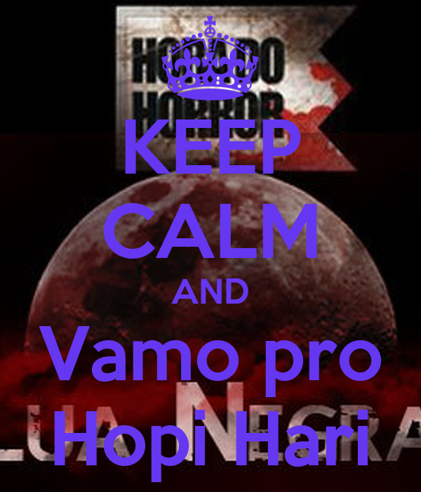 KEEP CALM AND Vamo pro Hopi Hari