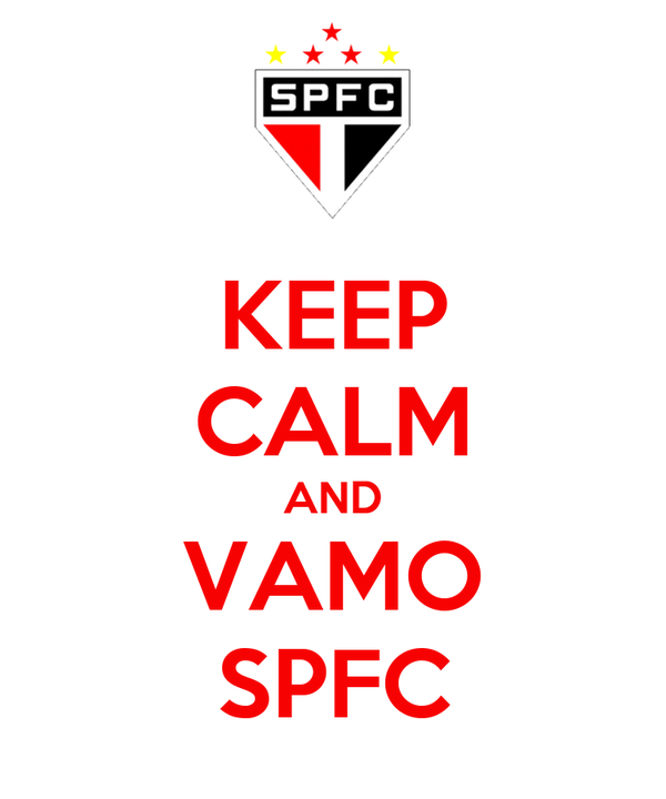 KEEP CALM AND VAMO SPFC