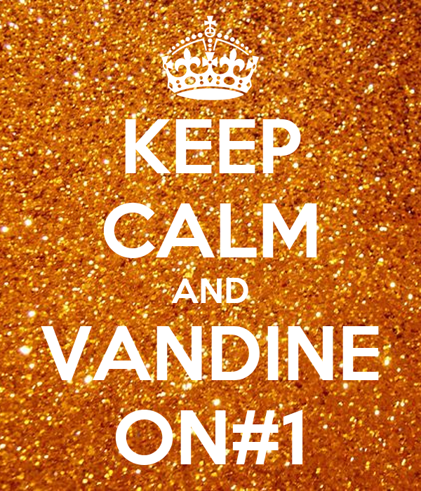 KEEP CALM AND VANDINE ON#1